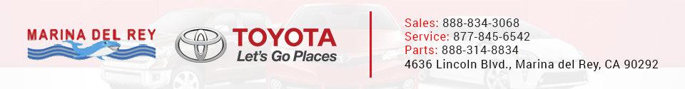 Marina Del Rey Toyota  Footer