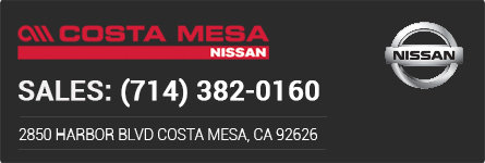 Costa Mesa Nissan >> Costa Mesa Nissan New Car Specials Nissan For Sale In Costa Mesa